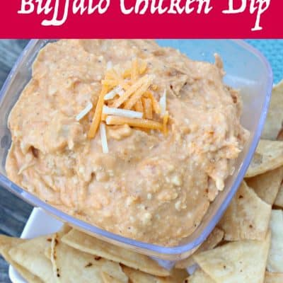 Sweet & Spicy Buffalo Chicken Dip : Slow Cooker Game Day Recipe