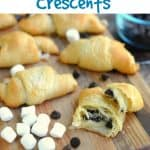 S'mores Crescent Rolls Treat Recipe - This Mama Loves