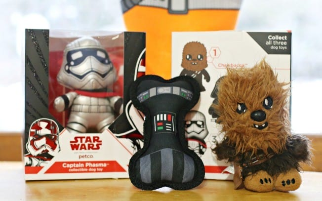 star wars for pets soft toys
