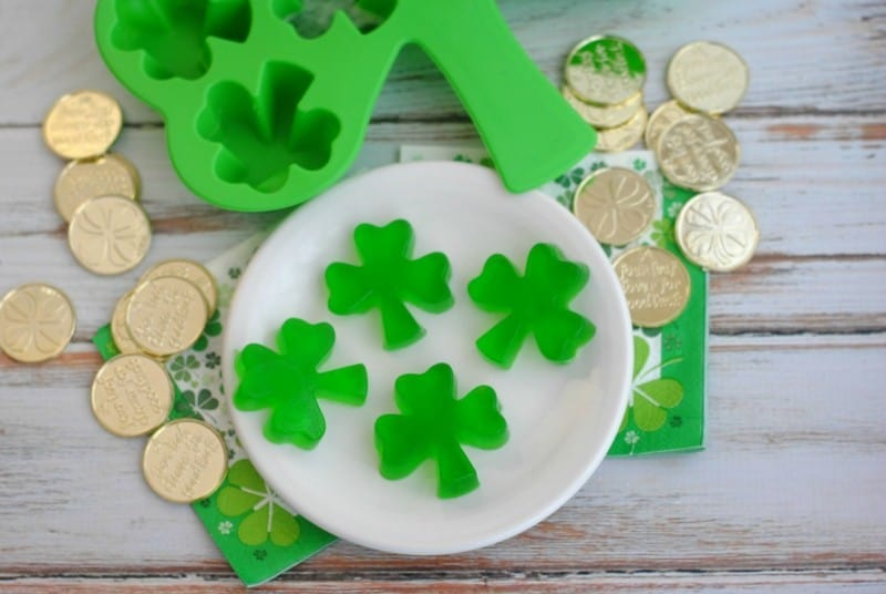 Green Shamrock Gummy Candy- This Mama Loves