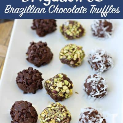 Brigadeiros: Brazillian Chocolate Truffles Recipe
