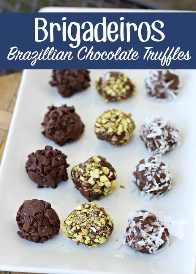 Brigadeiros Brazillian Chocolate Truffles Recipe- This Mama Loves