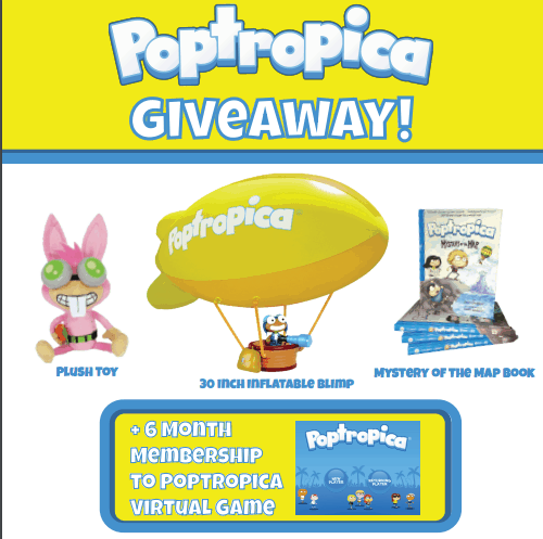 Poptropica Game expands with new Poptropica Book #MysteryoftheMap