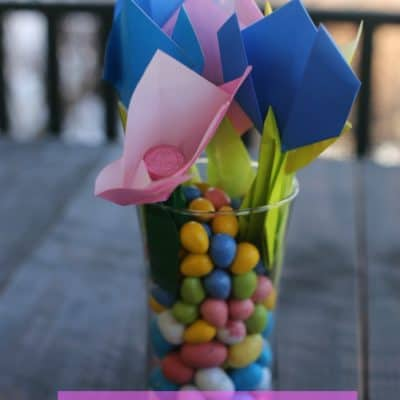 Easy Easter Centerpiece Craft Idea
