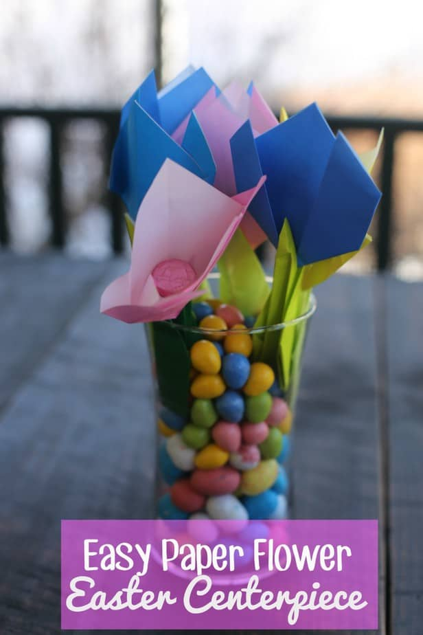 Easy Easter Centerpiece Craft Idea This Mama Loves
