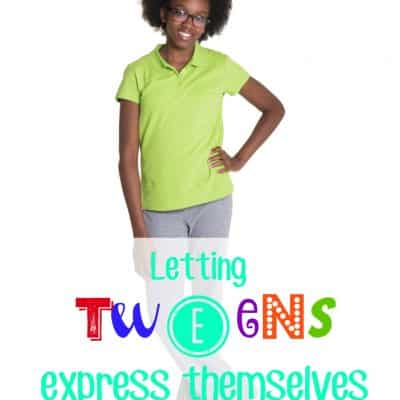 Letting tweens express themselves