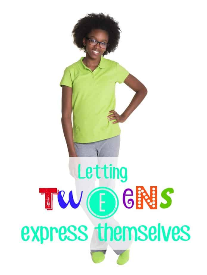 Letting tweens express themselves- This Mama Loves