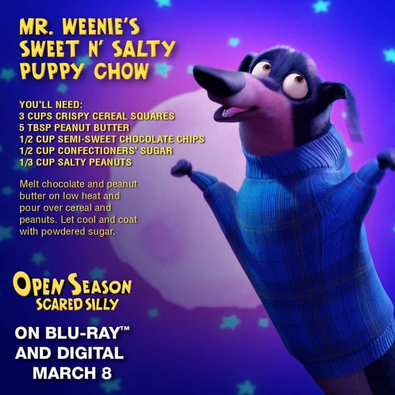 mr weenie sweet salty puppy chow mix
