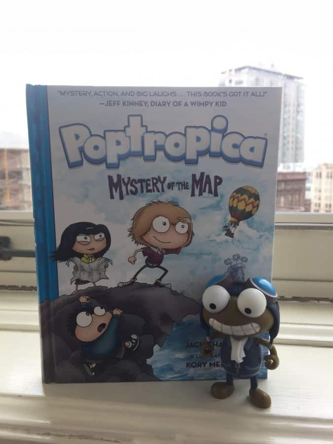 Poptropica Game expands with new Poptropica Book