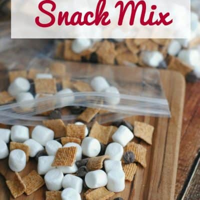 S'mores Snack Mix {with video}