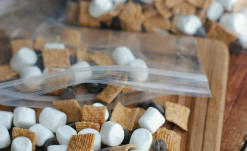 S'mores Snack Mix - This Mama Loves