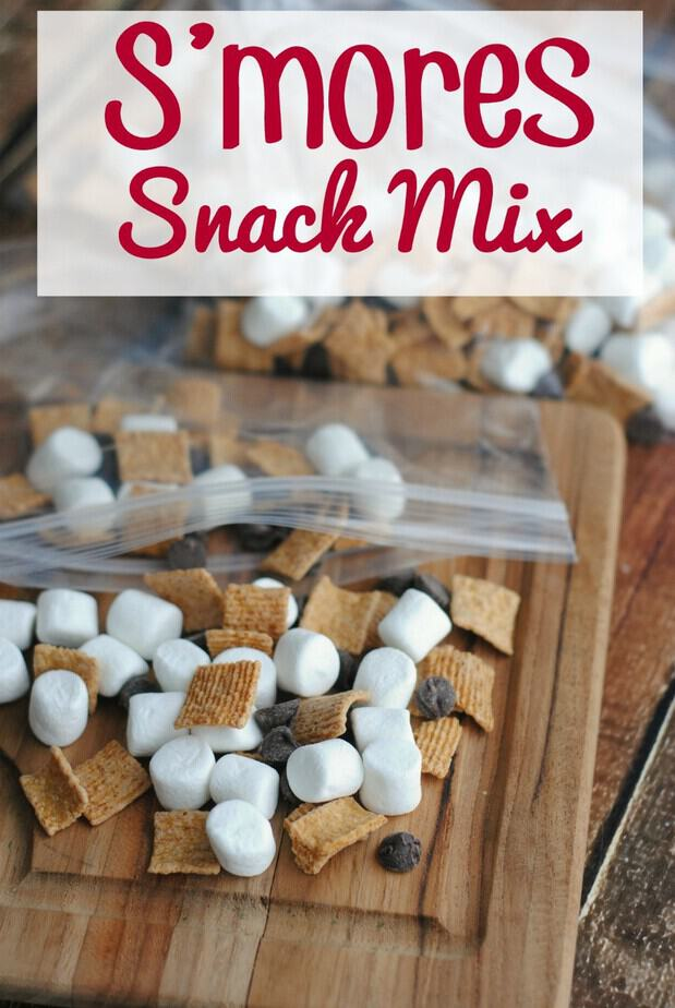 S Mores Snack Mix With Video This Mama Loves