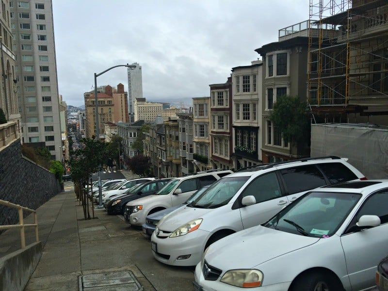 Parking Near Intercontinental Hotel San Francisco