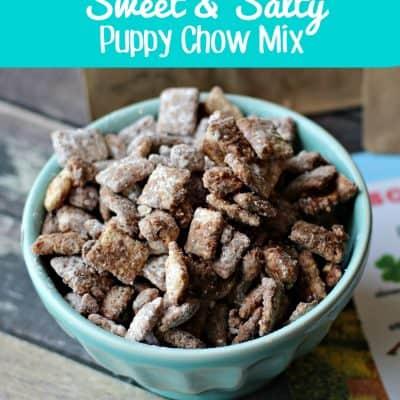 Mr. Weenie's Sweet Salty Puppy Chow Mix