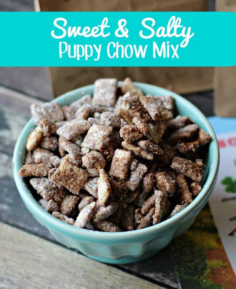 Sweet Salty Puppy Chow Mix- This Mama Loves