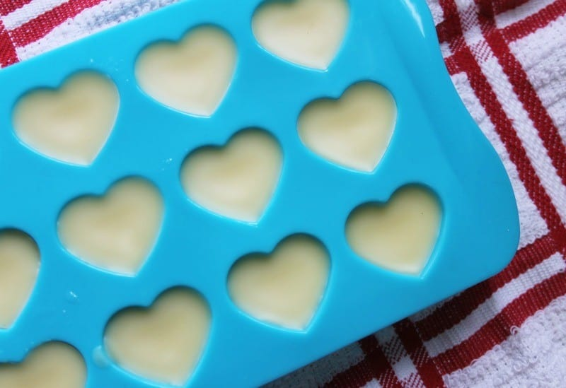 white chocolate bar mold