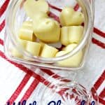 White Chocolate Lotion Bars Recipe - This Mama Loves