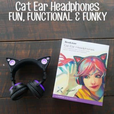 Cat ear headphones: Fun, functional and funky!
