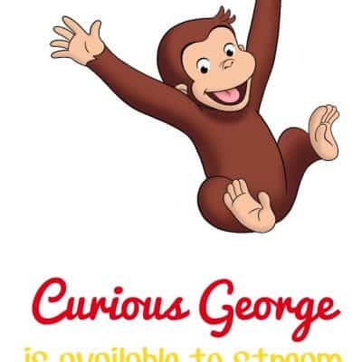 Curious George available for streaming now on Hulu
