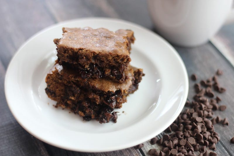 double chip mocha brownie