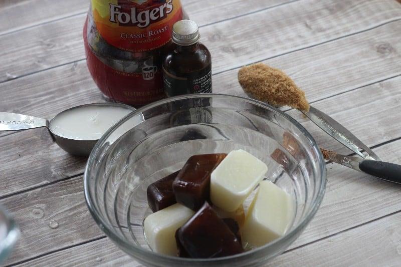 frozen coffee ingredients