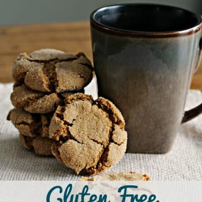 Gluten Free Molasses Cookies Recipe