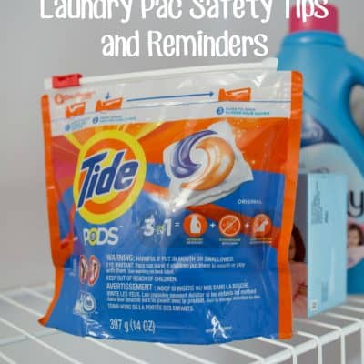 Laundry Pac Safety Tips and Reminders