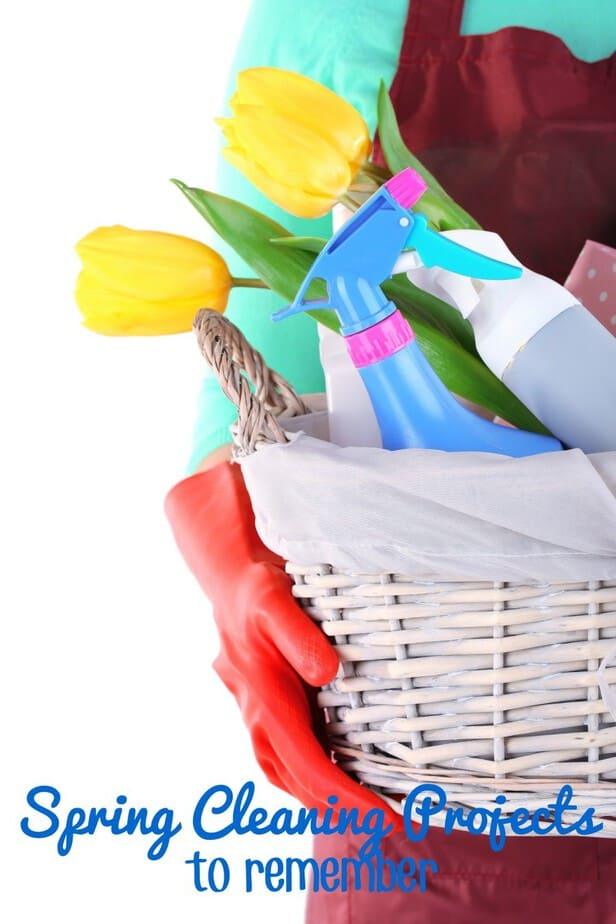 Spring Cleaning Projects to Remember- This Mama Loves