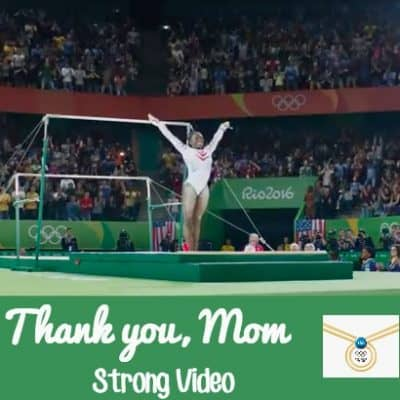 The strength of a mom- Thank you, Mom : Strong Video