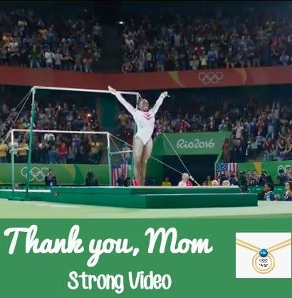 thank you mom strong video pg rio