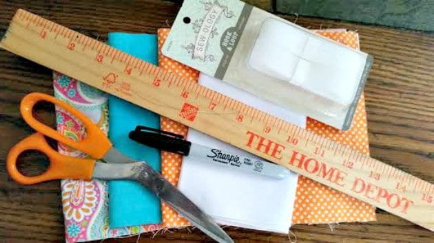 Homemade Reusable Sandwich Bags supplies