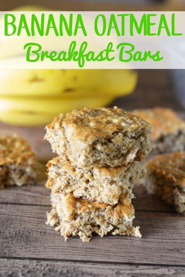 Oatmeal Banana Breakfast Bars Recipes — Dishmaps