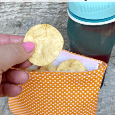 Homemade Reusable Sandwich Bags