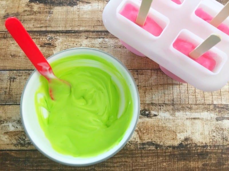 shopkins popsicles green