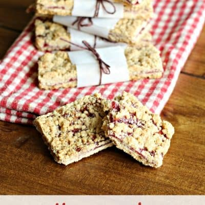 Homemade Baby Cereal Bars with Fruit #CookingwithGerber