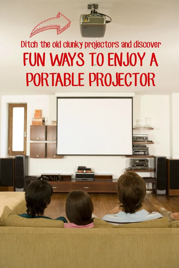Fun ways to enjoy a portable projector this mama loves for Smart pocket projector