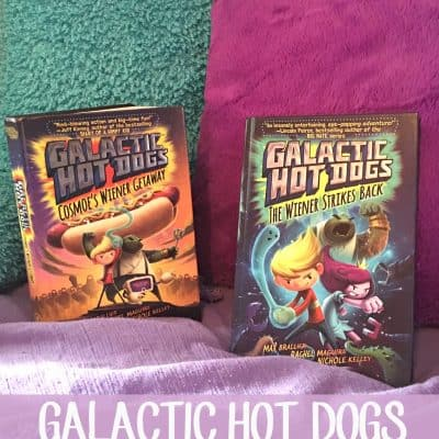 Galactic Hot Dogs Graphic Novels for Kids
