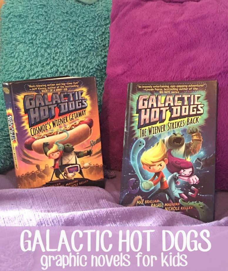 galactic hot dogs graphic novels kids hero