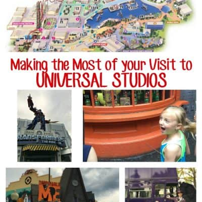 Make the most of your visit to Universal Studios