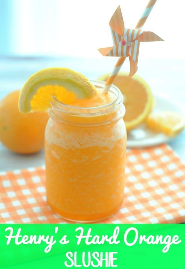Henrys Hard Orange Slushie / This Mama Loves