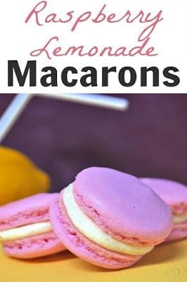 Raspberry Lemonade Macarons frmo Thinking Outside the Sandbox