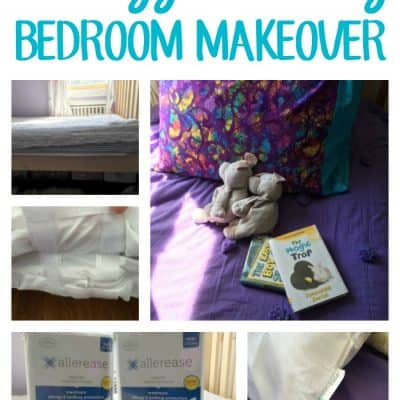 Allergy Friendly Bedroom Makeover