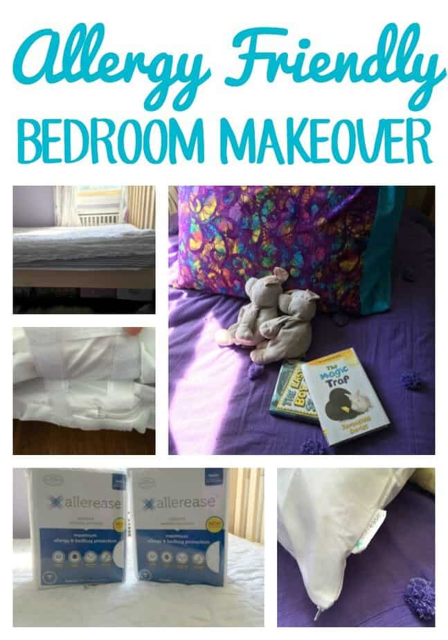 Allergy Friendly Bedroom Makeover from This Mama Loves