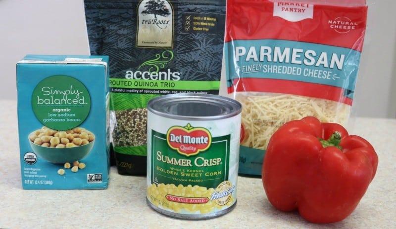 basil quinoa ingredients