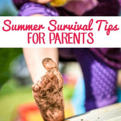 Summer Survival Tips for Parents
