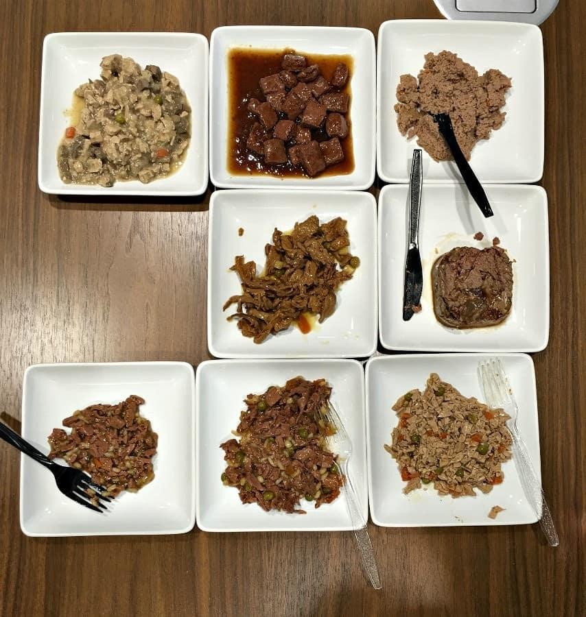 wet dog food varieties