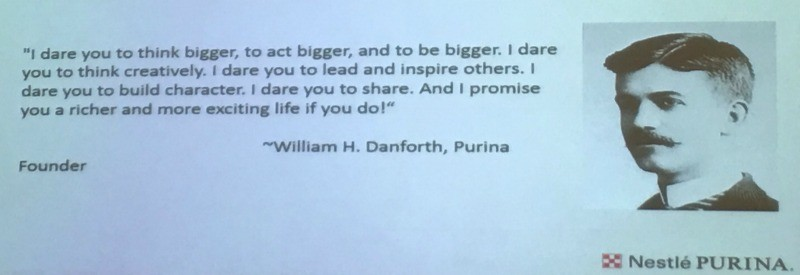 william danforth quote