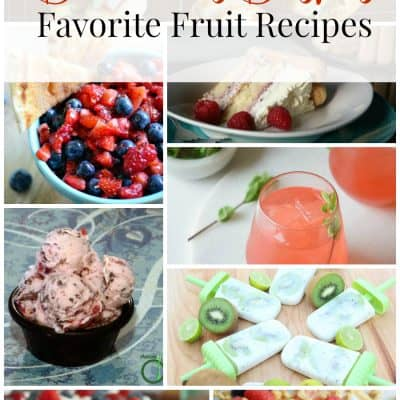 Delicious Dishes Recipe Link Party #28 Favorite Fruit Recipes