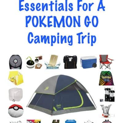 Fun Tips And Essentials For A Pokemon Go Camping Trip