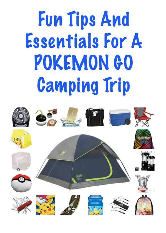 Fun Tips And Essentials For A Pokemon Go Camping Trip -This Mama Loves